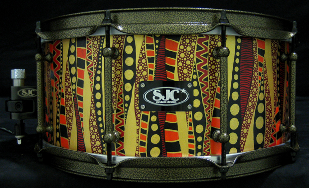 SJ Creds Snare Drum